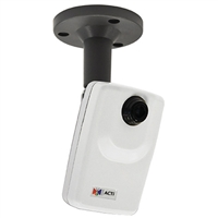 ACTi D11 1MP PoE Cube Camera with Fixed Lens